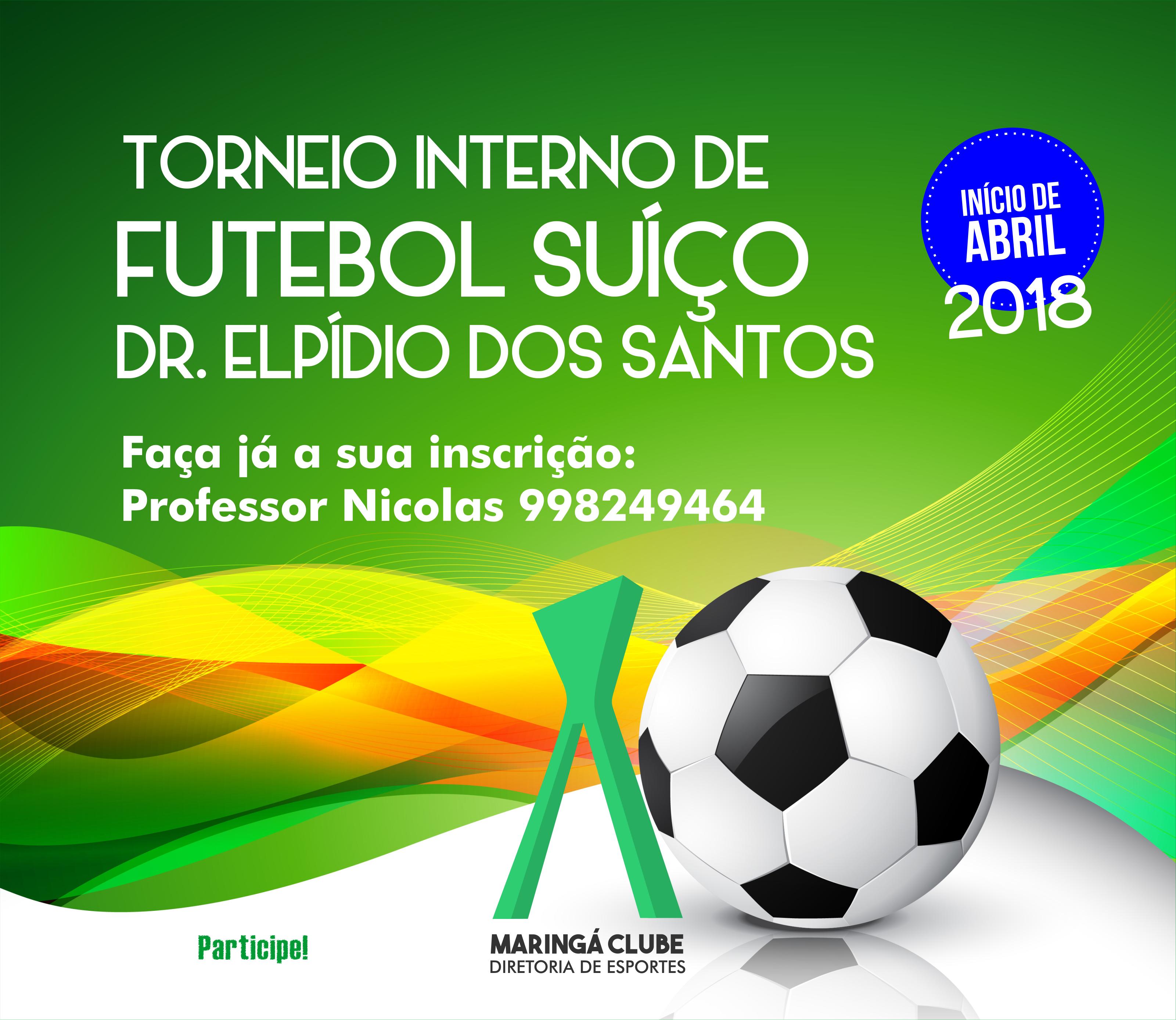 TORNEIO DE FUTEBOL DR. ELPIDIO